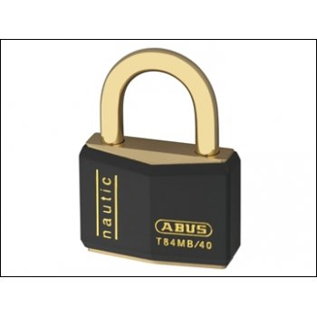 ABUS 40mm Black Nautic Rustproof Padlock