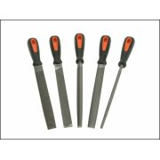 "Engineers File Set Bahco 8"" Pk 5"