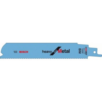BOSCH Reciprocating Saw Blades S1126CHF Heavy for Metal 200mm
