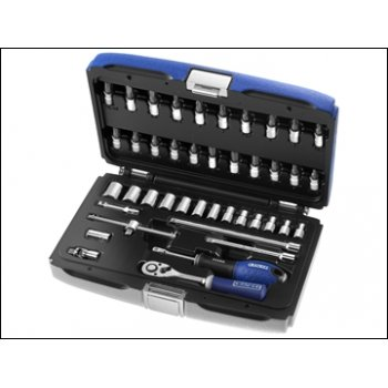 "BRITOOL 1/4"" Drive Socket Set 42Pce Metric"