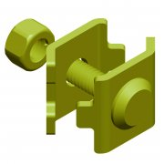 Cable Basket Earth Terminal Bracket