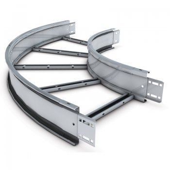 Cable Ladder Heavy Duty 125 Stainless Steel Bend 45