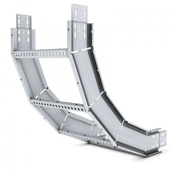Cable Ladder Heavy Duty 125 Stainless Steel Internal Riser 90