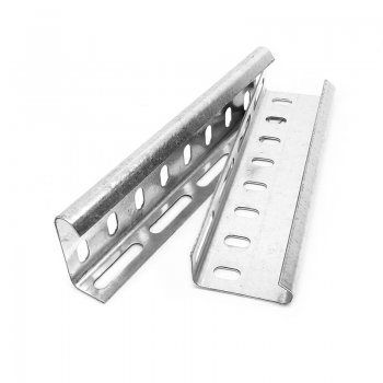 Cable Tray Heavy Duty Coupler Pre Galvanised Wrap Over Pair