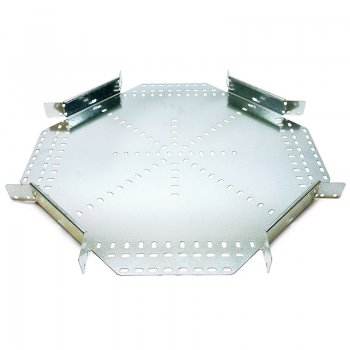 Cable Tray Heavy Duty Pre Galvanised Intersection 4 Way Equal