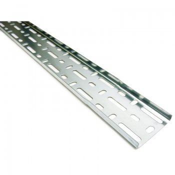 Cable Tray Light Duty Pre-Galvanised 3m