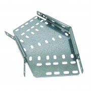 Cable Tray Medium Duty Pre Galvanised 45 Bend