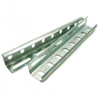 Cable Tray Medium Duty Pre Galvanised Couplers Wrap Over Pair