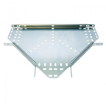 Cable Tray Medium Duty Pre Galvanised Flat Equal Tee