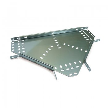 Cable Tray Medium Duty Stainless Steel Equal Tee