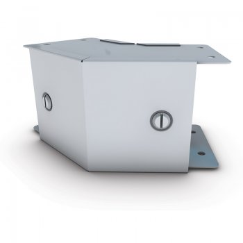 Cable Trunking 45 Elbow Outside Lid