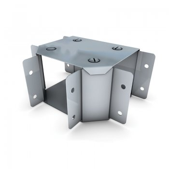 Cable Trunking Gusset Tee Top Lid