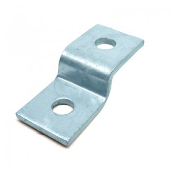 Channel 2 Hole HDG Z Bracket