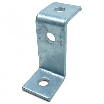 Channel 3 Hole HDG Z Bracket 82mm