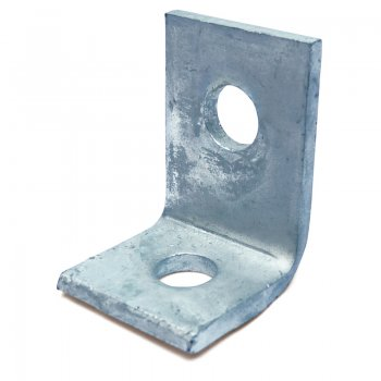 Channel 90 Angle Bracket HDG 2 Hole 41 x 57mm
