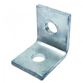 Channel 90° Angle Bracket HDG 2 Hole 47 x 50mm