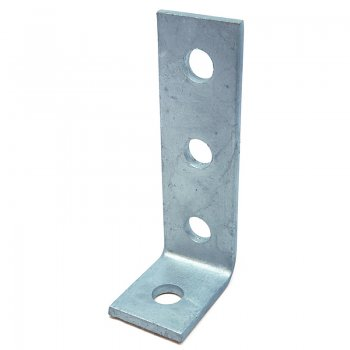 Channel 90° Angle Bracket HDG 4 Hole 3/1