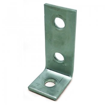 Channel 90°Angle Bracket Stainless Steel 3 Hole