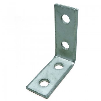 Channel 90°Angle Bracket Stainless Steel 4 Hole 2/2