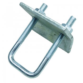 Channel Beam Clamp Stainless Steel c/w U Bolt