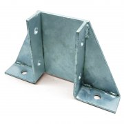 Channel Braced Floor Plate HDG Double