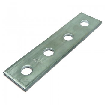 Channel Flat Plate Stainless Steel 4 Hole