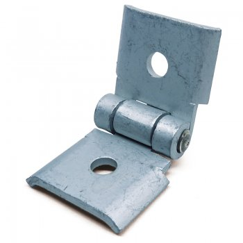 Channel Hinged HDG Angle Bracket