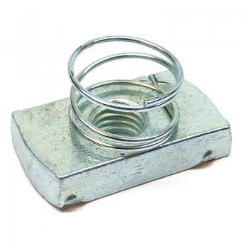 Channel Nut Stainless Steel Short Spring