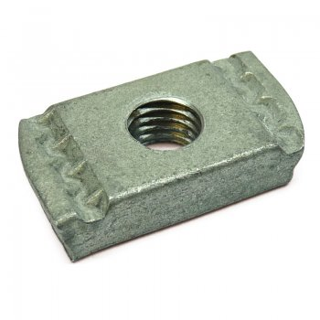 Channel Nuts Galvanised No Spring