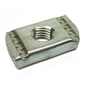 Channel Nuts Stainless Steel No Spring