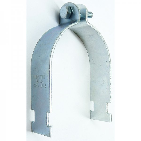 Channel pipe clamps piece from mcp uk