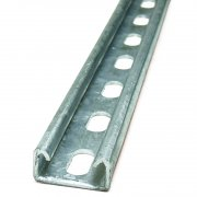 Channel Section HDG Slotted 41 x 21 x 2.5mm