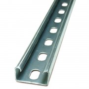 Channel Section Light Pre Galvanised Slotted 41 x 21 x 1.5mm
