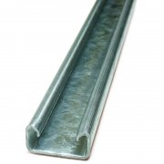 Channel Section Pre Galvanised Plain 41 x 21 x 2.5mm