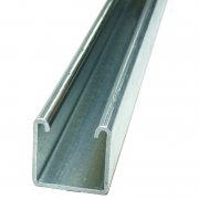 Channel Section Pre Galvanised Plain 41 x 41 x 2.5mm