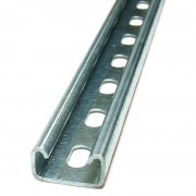 Channel Section Pre Galvanised Slotted 41 x 21 x 2.5mm