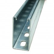 Channel Section Pre-Galvanised Slotted 41 x 82 x 2.5mm