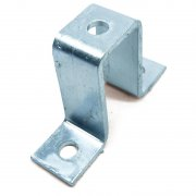Channel U Bracket HDG 3 Hole 82mm Deep