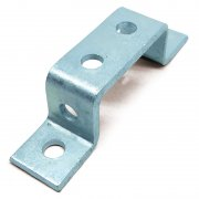 Channel U Bracket HDG 6 Hole 82mm Wide