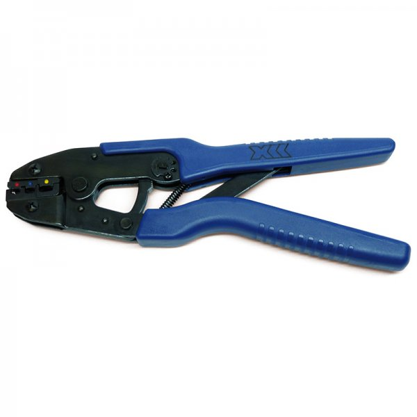 crimp tool for pre insulated terminals ratchet from mcp uk. Black Bedroom Furniture Sets. Home Design Ideas