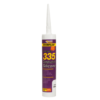 EVERBUILD Construction Silicone EB335 Toffee
