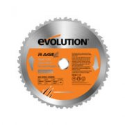 Evolution Rage Multi Purpose TCT Saw Blade 255mm