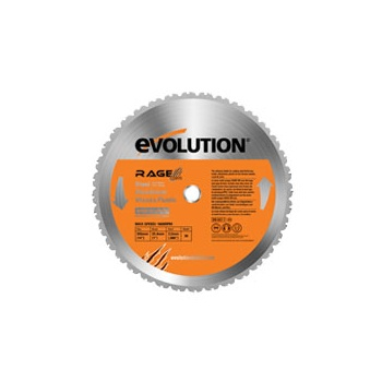 EVOLUTION Rage Stainless Steel TCT Saw Blade 355mm