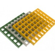 Fibreglass Moulded Grating - 25mm Thick
