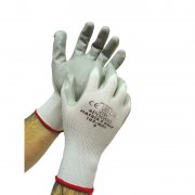 Grey Nitrilion Gloves