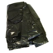 "Heavy Duty Black Sacks 18"" x 30"""