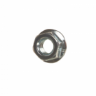 Hex Flange Nuts Serrated BZP
