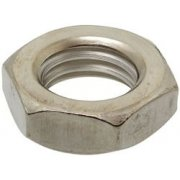 Hex Half Nut Stainless Steel A2 Metric
