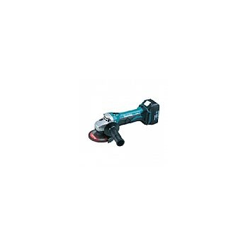 MAKITA Angle Grinder Makita 18V Li-ion Kit 115mm - 2 Batteries