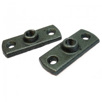 Malleable Pipe Ring Back Plates